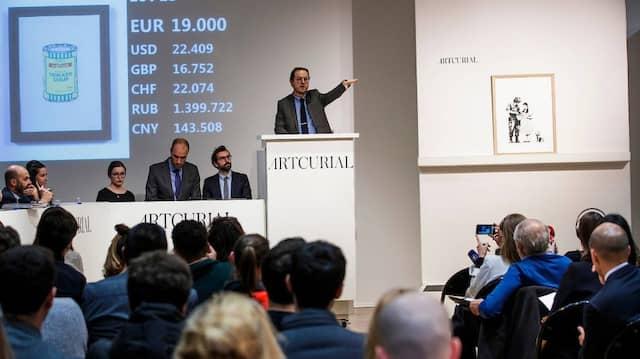 Live statt Digital: Auktionen wie hier 2015 finden nun unter strengen Auflagen statt.