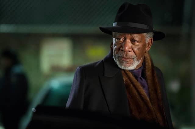 """Er ist stets der Mann im Hintergrund, der die Fäden zieht: Morgan Freeman als Thaddeus Bradley in """"Die Unfassbaren 2""""."""