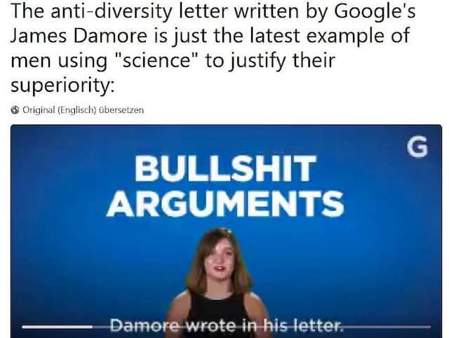 """Bei """"Gizmodo"""" wird nicht argumentiert, sondern gebrüllt: """"Bullshit""""."""