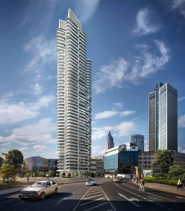 "Viele Käufer aus China: Wohnturm ""Grand Tower"" in Frankfurt"