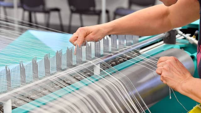 Textilfabrik in Thüringen
