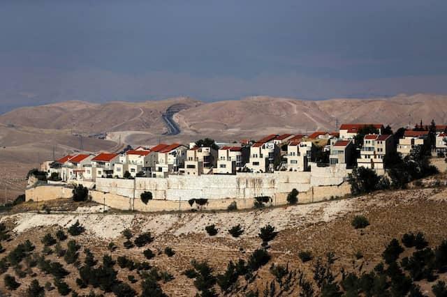 Ansicht der israelischen Siedlung Maale Adumim, im besetzten Westjordanland, sieben Kilometer östlich von Jerusalem.