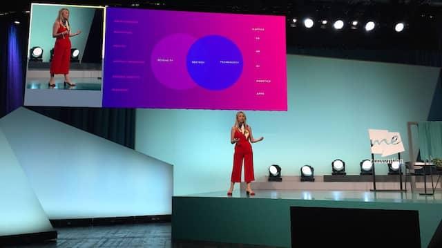 Sextech Fachfrau Bryony Cole auf der Me Convention