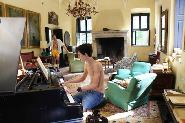 """Erste Liebe: Armie Hammer (links) und Timothée Chalamet in """"Call me by your name"""""""