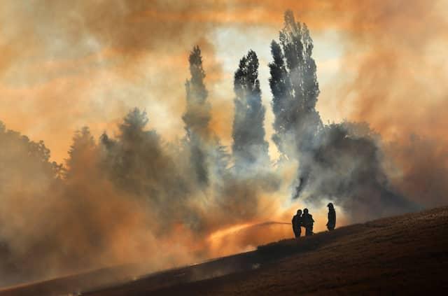 Die Hitze erhöht die Brandgefahr: Bereits Anfang Juli musste die Feuerwehr in Mecklenburg-Vorpommern ein Getreidefeld löschen.