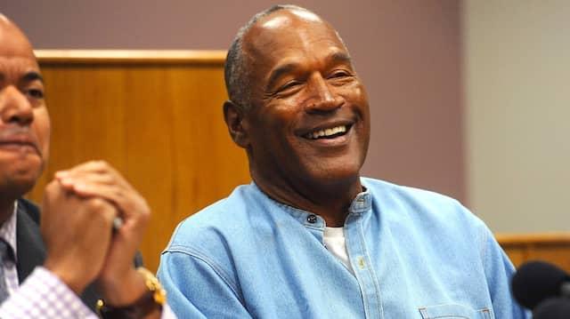 Begnadigt und zurück in Freiheit: Der ehemalige Football-Star O.J. Simpson