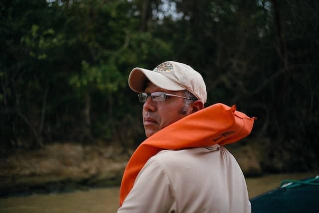 Für naturverträglichen Tourismus: Tourleiter Javier Reina