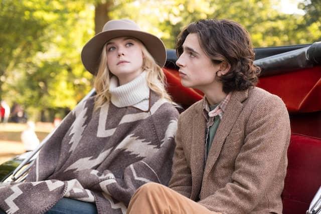 Ist das jetzt romantisch? Gatsby (Timothée Chalamet) und Ashleigh (Elle Fanning) in Manhattan