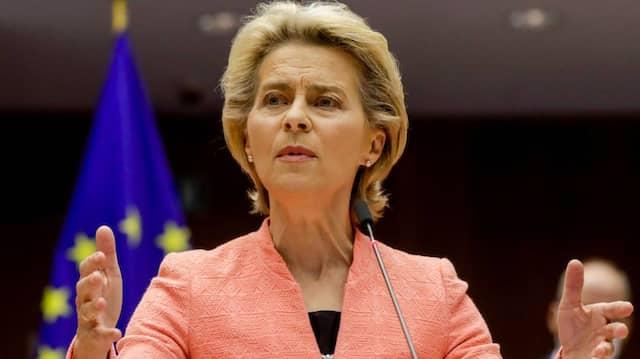 Eu-Komissionspräsidentin Ursula von der Leyen hält am Mittwoch in Brüssel ihre erste Rede zu Lage der EU.