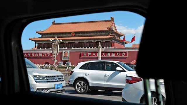Das Tor des Himmlischen Friedens in Peking