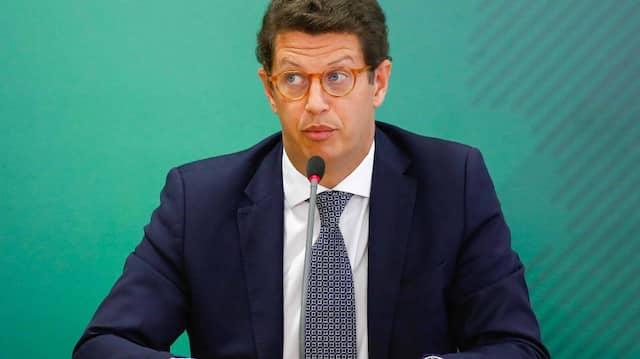 Ricardo Salles, scheidender Umweltminister Brasiliens