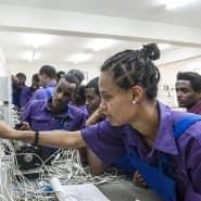 Wirtschaftliche Entwicklung bringt auch Frieden wie in Äthiopien.