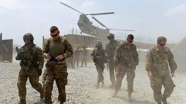Amerikanische Soldaten im August 2015 in der afghanischen Provinz Nangarhar