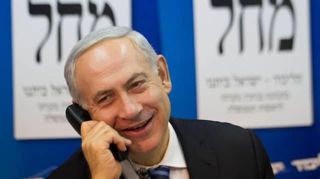 Israels Ministerpräsident Netanjahu wirbt mit einem Versprechen um die Stimmen der Siedler