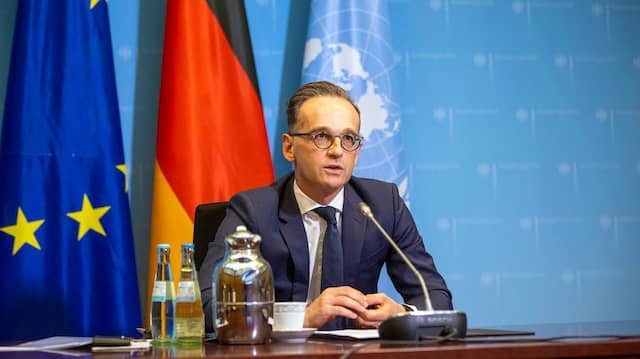 Bundesaußenminister Heiko Maas im Mai in Berlin