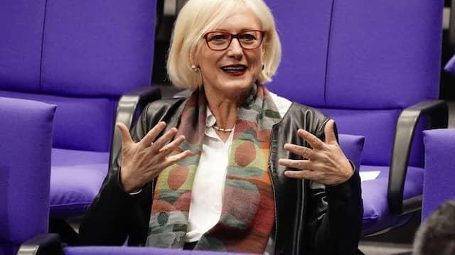 Dagmar Ziegler am Donnerstag im Bundestag