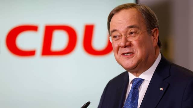 In der Briefwahl mit gutem Ergebnis bestätigt: der neue CDU-Vorsitzende Armin Laschet am Freitag in Berlin