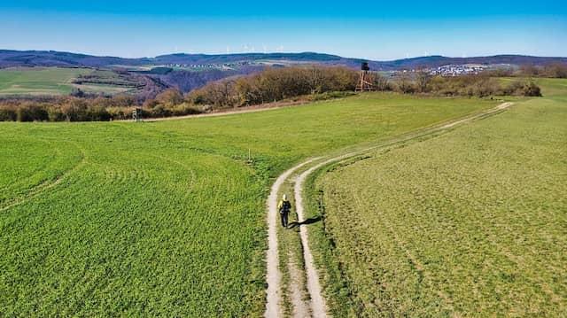Allein auf dem Rheinsteig: Ich kenne keinen Kummer, den man nicht weggehen kann, hat Kierkegaard gesagt.
