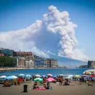 Neapel sollte sich niemals in Sicherheit wiegen: der Ausbruch des Vesuv am 11. Juli 2017.