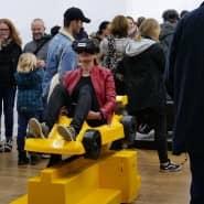 """Ausstellung: Die """"kurze Nacht der Galerien"""" ist eine Attraktion in Wiesbaden, doch sonst ist es um die Lage der Galerien in der Landeshauptstadt schlecht bestellt."""