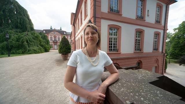 Will alte Gemäuer authentisch erhalten: Bezirkskonservatorin Henriette von Preuschen in ihrem neuen Amtssitz