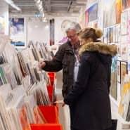 Unikate auch für kleine Preise: Kunstsupermarkt in Frankfurt