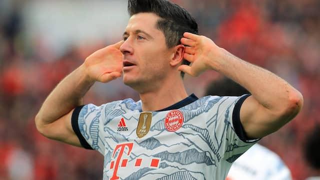 Hört, hört: Die Bayern um Robert Lewandowski sind in Bestform.