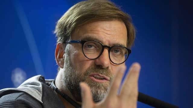 Weiß wie man die Aufmerksamkeit von sich lenkt: Liverpool-Trainer Jürgen Klopp