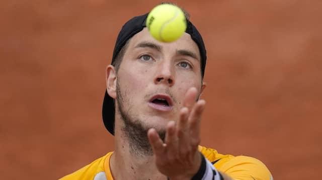 Jan-Lennard Struff erreicht bei den French Open das Achtelfinale.