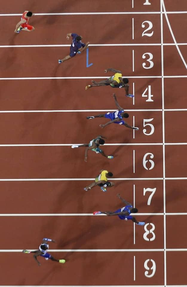 Diesmal waren andere schneller als der Star aus Jamaika.