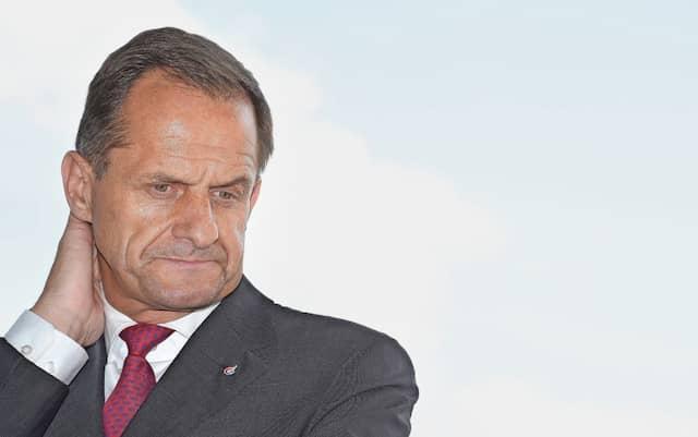 Noch Präsident: Alfons Hörmann