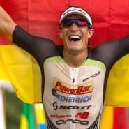 2014 trug Sebastian Kienle als Ironman auf Hawaii die deutsche Fahne als Erster ins Ziel.