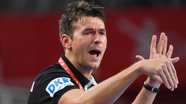 Im Fokus: Handball-Bundestrainer Christian Prokop.