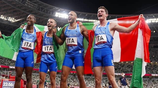 Goldstaffel in Azurblau: Seit wann haben die Italiener so schnelle Sprinter?