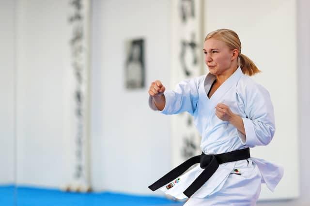 Karate: Jasmin Jüttner, 28 Jahre