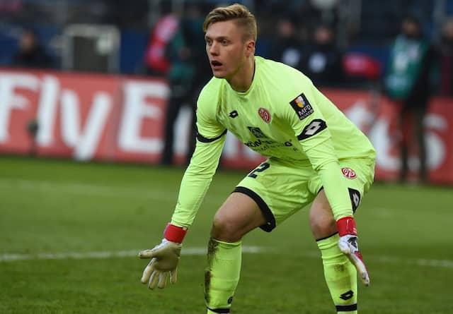 Nach starkem Debüt weiter im Tor: Florian Müller soll MAinz 05 Rückhalt geben