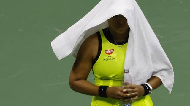 Naomi Osaka verlässt die US Open und wird wieder eine Pause einlegen.