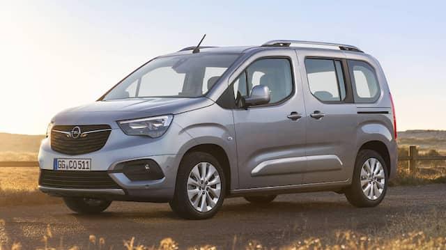 Auf die Familie mit großem Platzbedarf zugeschnitten: Opel Combo