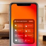 Szenen und Szenarien: Die Programmierung am Smartphone ist entscheidend, um etwa auf das geöffnete Fenster beim Verlassen des Hauses hinzuweisen.