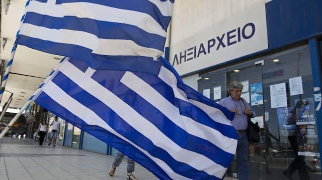 Die Diskussion über die Griechenlad-Hilfen flammt wieder auf.