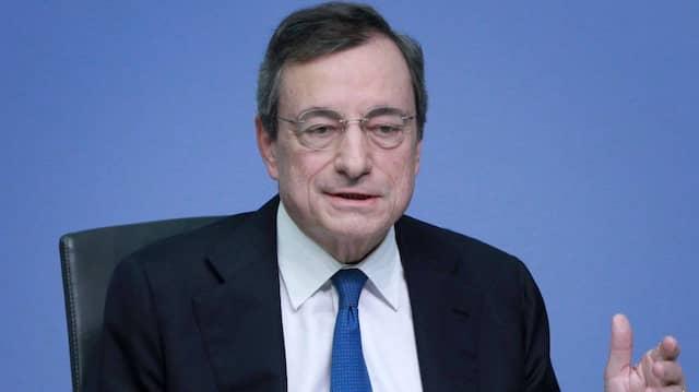 Der frühere Chef der Europäischen Zentralbank (EZB): Mario Draghi soll das Bundesverdienstkreuz erhalten.