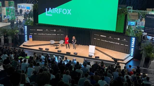 So sehen Siegerinnen aus: Das Start-up Airfox hat auf der diesjährigen Code-N abgeräumt.