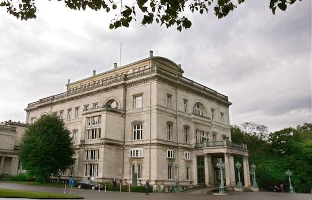 Die Villa Hügel in Essen