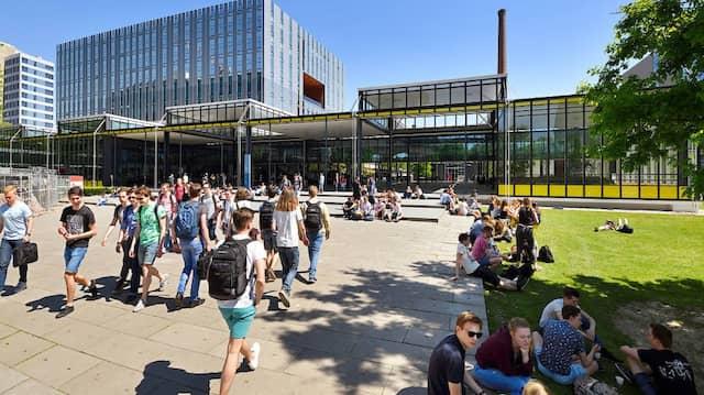 Blick auf den Campus der TU Eindhoven