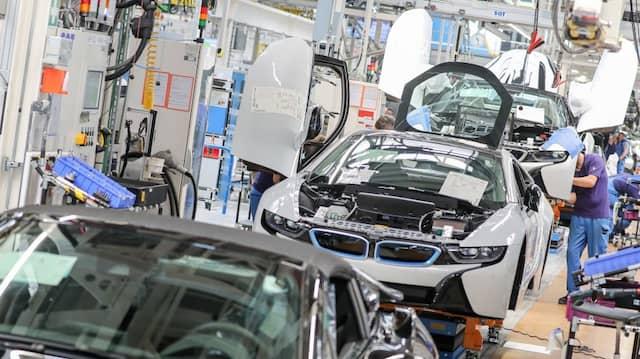 Deutsche Industrie erhält fast 8 Prozent weniger Aufträge