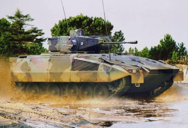 """Schützenpanzer vom Typ """"Puma"""": der Hersteller ist Rheinmetall."""