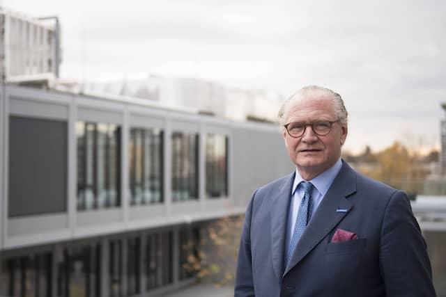 Stefan Oschmann, 60, ist Chef des Chemie- und Pharmakonzerns Merck KGaG.