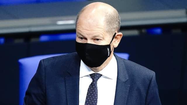 Verhandelt für Deutschland: Finanzminister Olaf Scholz