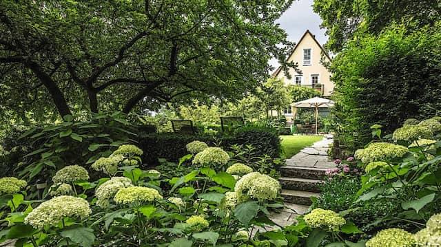 Eine Frage der Zeit: Der diesjährige Siegergarten ist über viele Jahre weiterentwickelt worden.