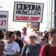 Demonstration von Querdenken 711 Mitte September.